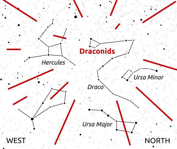 2011 draconids map
