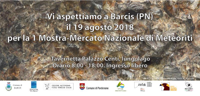 Prodajna izložba meteora u Italiji