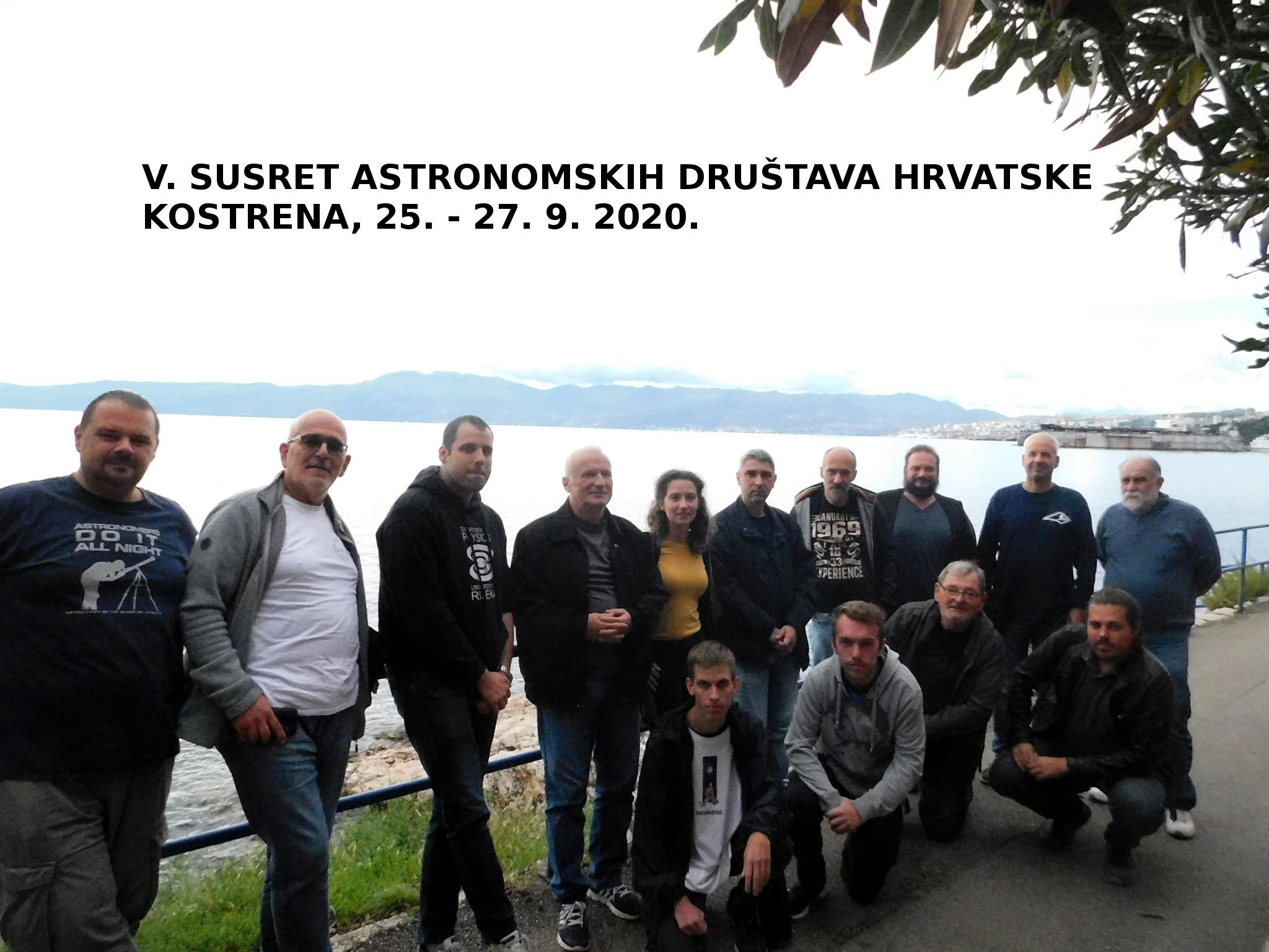 Održan 5. susret astronomskih društava Hrvatske