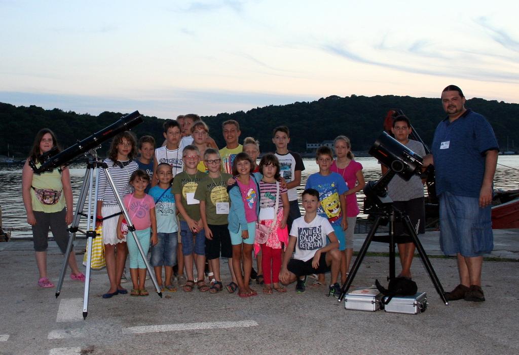 Održana 1. Lošinjska ljetna škola astronomije