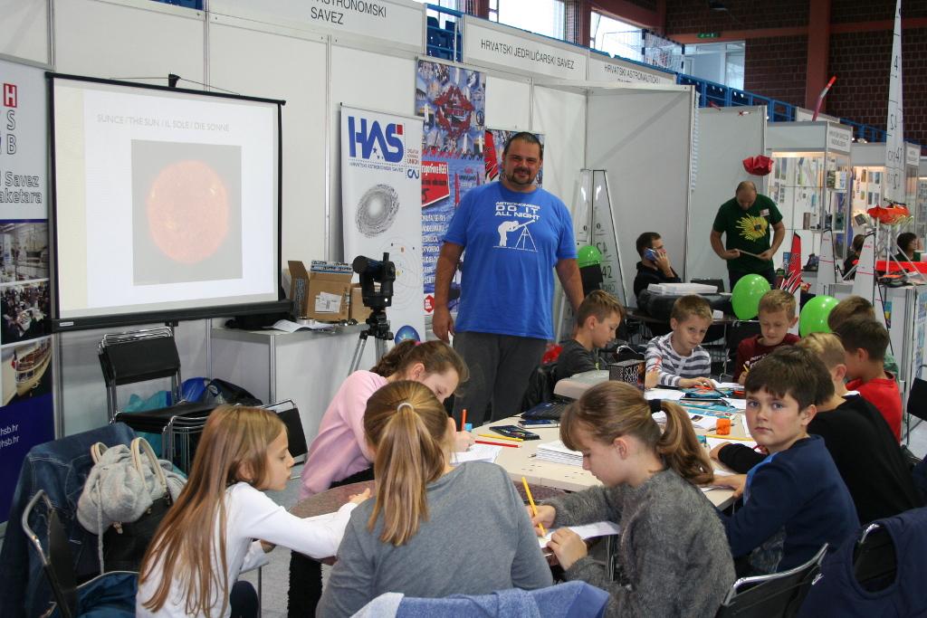 Hrvatski astronomski savez na Festivalu tehničke kulture u Križevcima