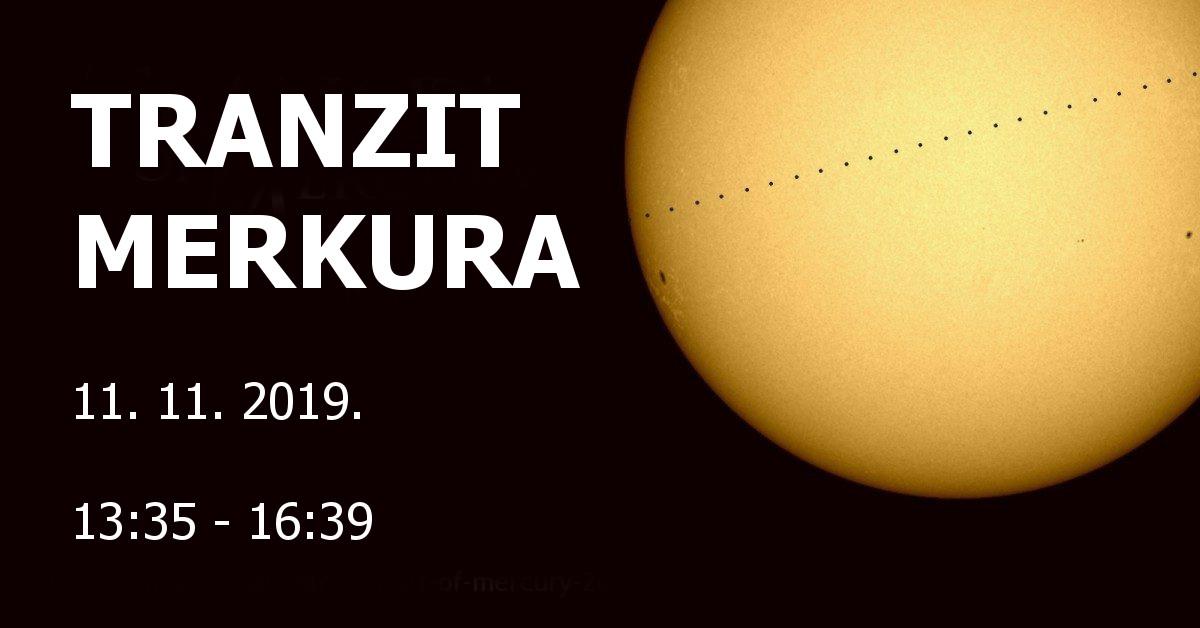 Ne propustite pogledati prelazak Merkura preko Sunca