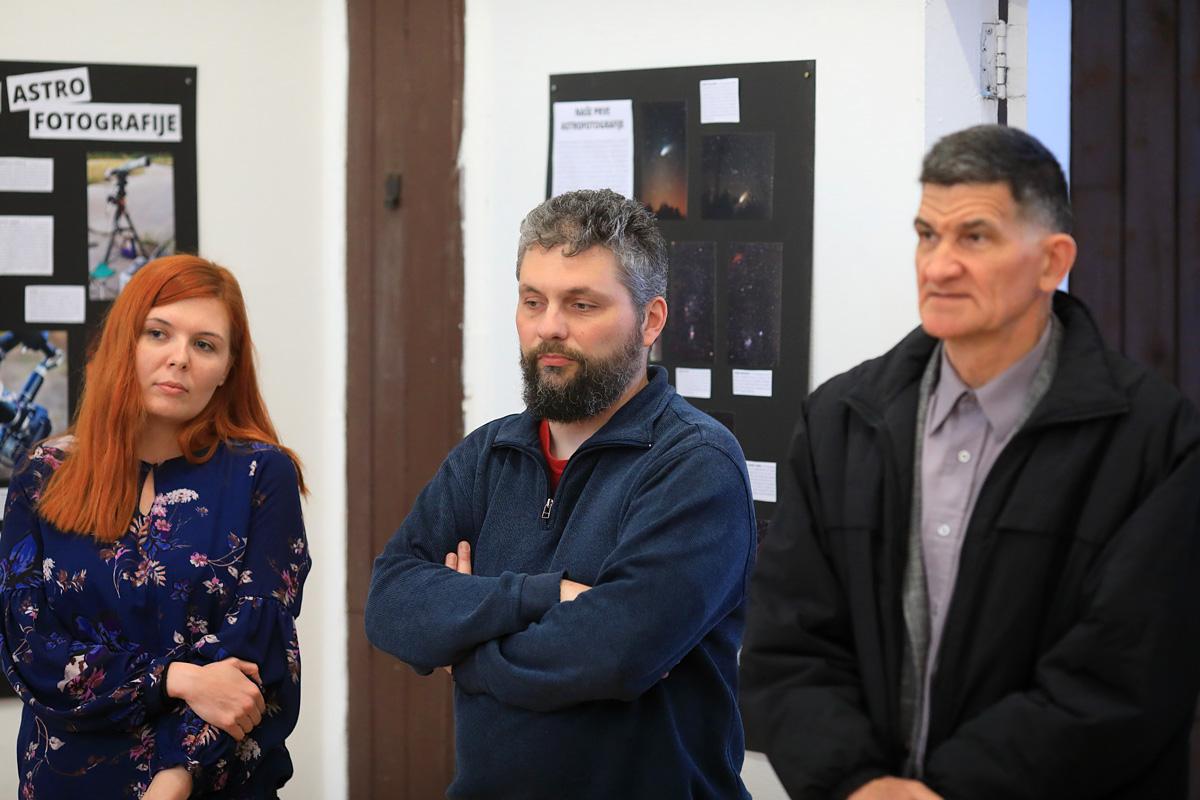 Izložba u tehničkom muzeju u Zagrebu povodom 20. obljetnice osnivanja Astronomskog društva Beskraj